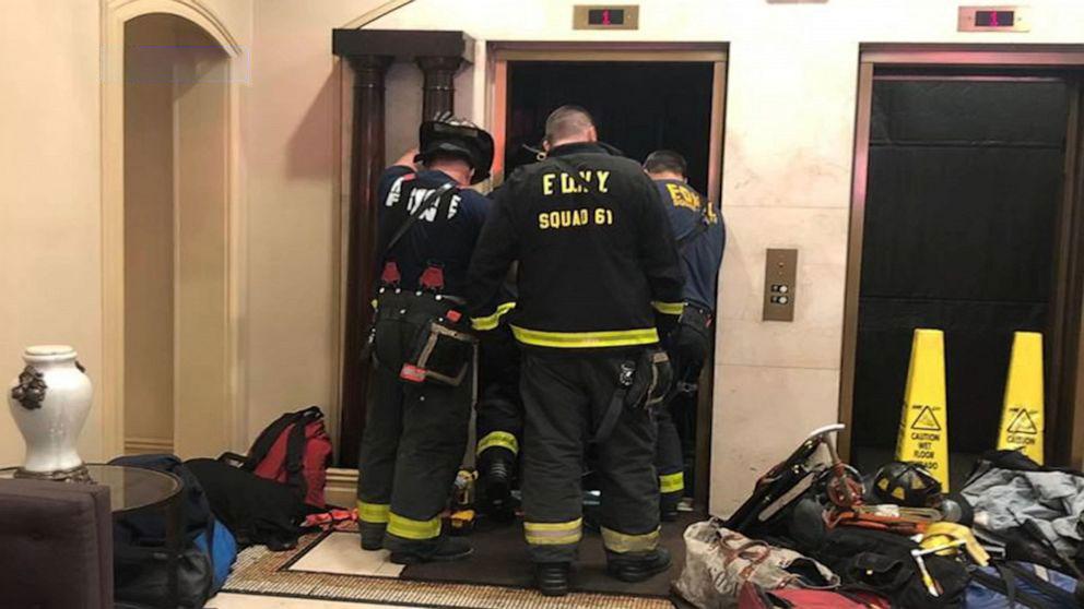 سقوط در آسانسور